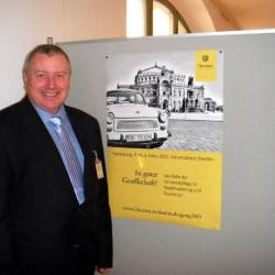 """Peter Wolff referiert in Dresden auf der Denkmalschutztagung """"In guter Gesellschaft"""". Sein Vortrag erscheint später auch im Konferenzband."""