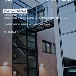 Cover des Programmheftes zur Jahrestagung der DGT
